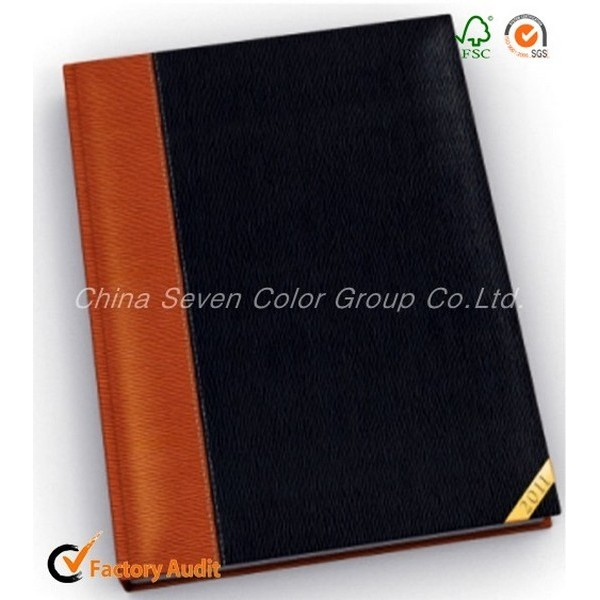 Promotional Leather Notebook With Pen