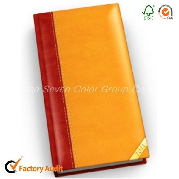 2018 Agenda Pu Hardcover Leather Notebook
