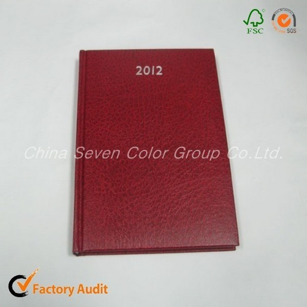 2018 Embossed Leather Diary For Office
