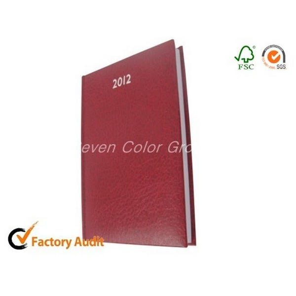 Leather Hardcover Loose Leaf Office Agendas