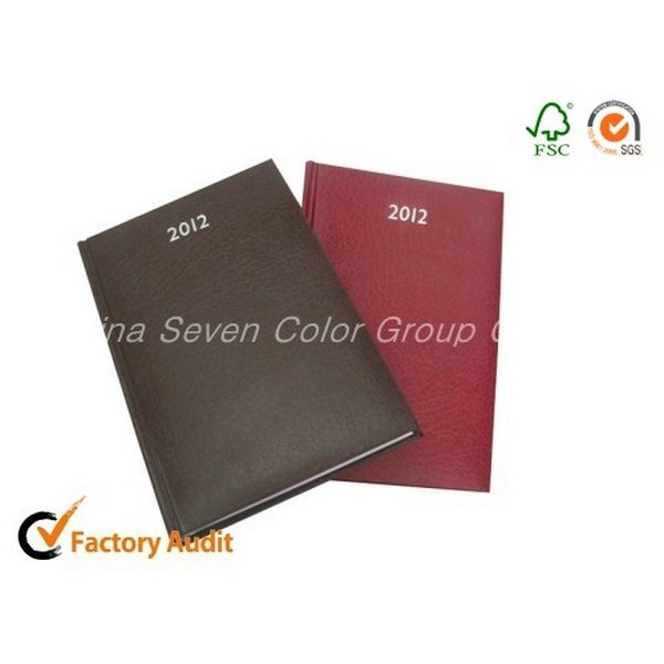 PU Leather Hard Cover Agenda