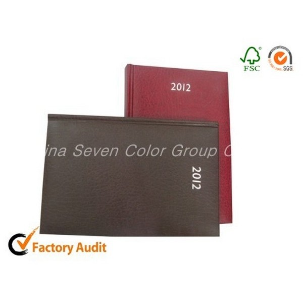 Quality Customized Print Leather Agendas 2018