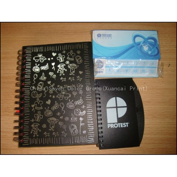 Hard Cover Or PP Cover Spiral Notebook