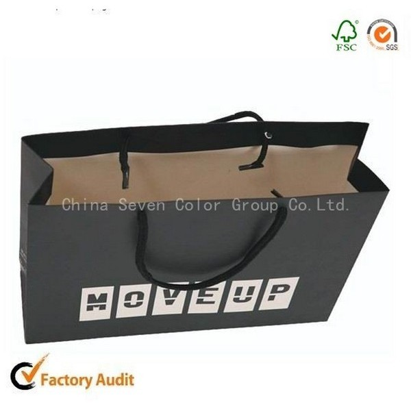 High Quality Brown Or White Kraft Paper Bags For Food Packing