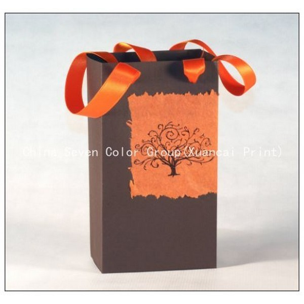 2018 Promotion Paper Bag In Gold