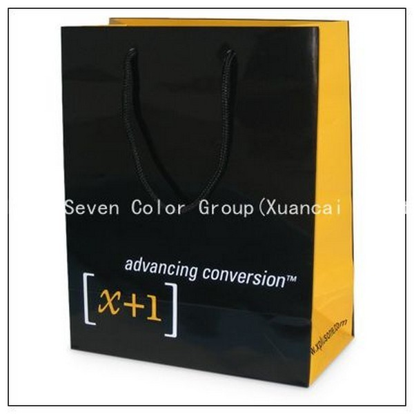 High Quality Nice Printed Guangzhou Paper Bags