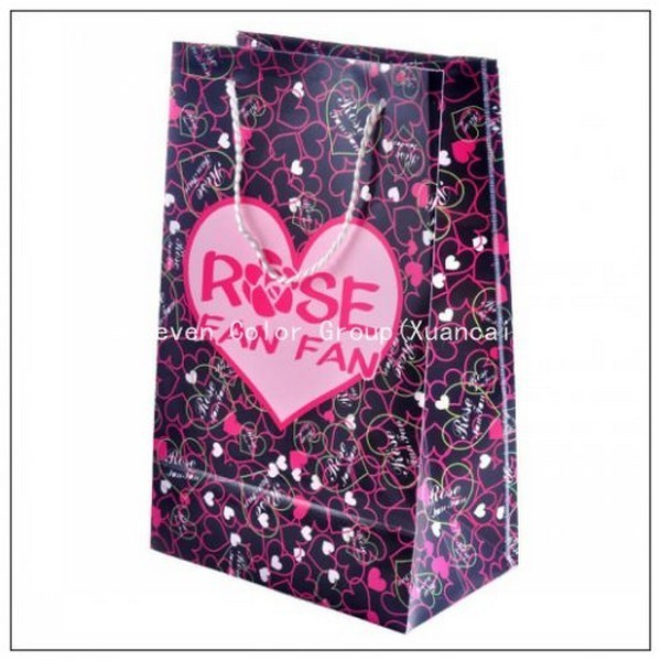Shopping Paper Bag With Customized Logo In High Quality