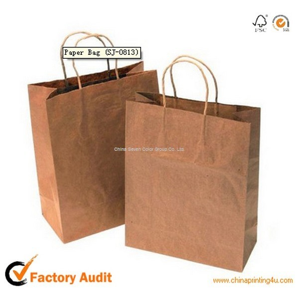Best Quality Thick Paper Bag For Carrier