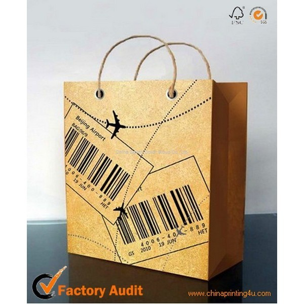 Supply Paper Bags For Garments Packaging