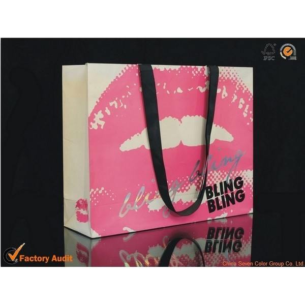 Foldable Paper Bag For Gift Packaging