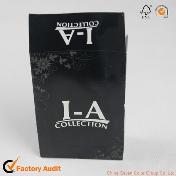 Fashional Black Shopping Paper Bag