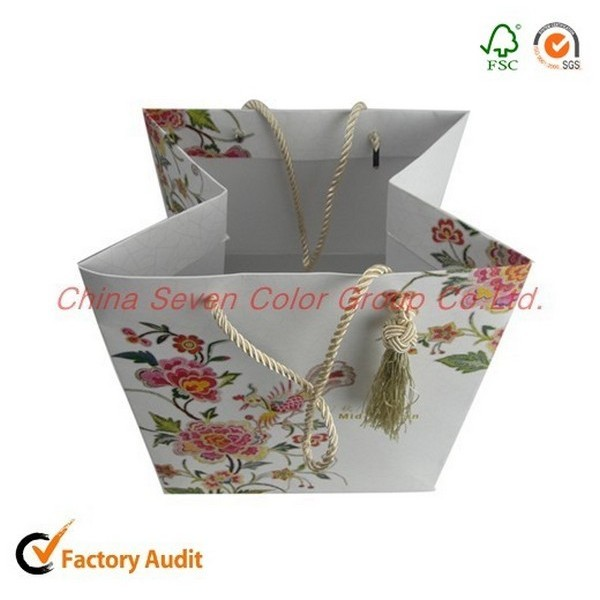 Large Capacity Printing Paper Bags With Handles