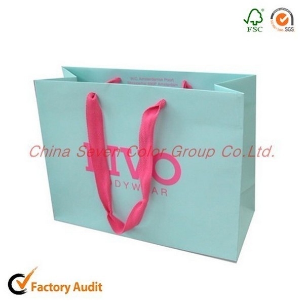 Elegant Shopping Packaging Paper Bag From China