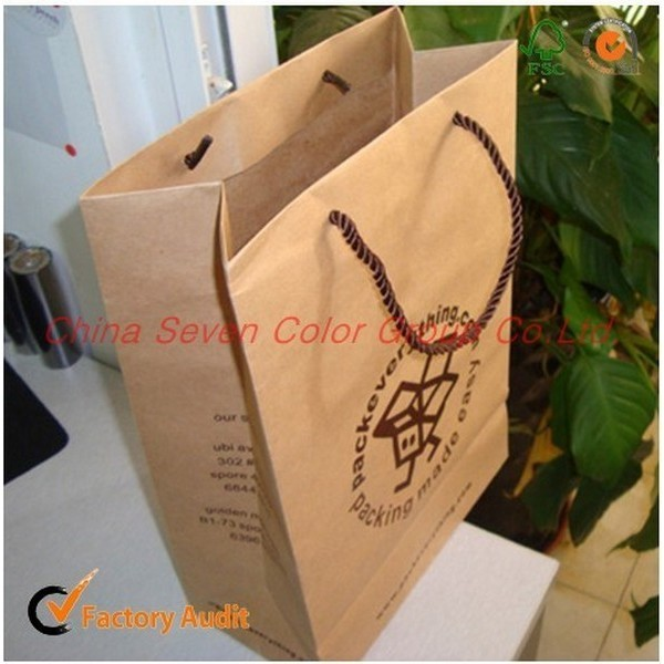 Custom Manufacturer Paper Bag Foldable Gift Paper Bag