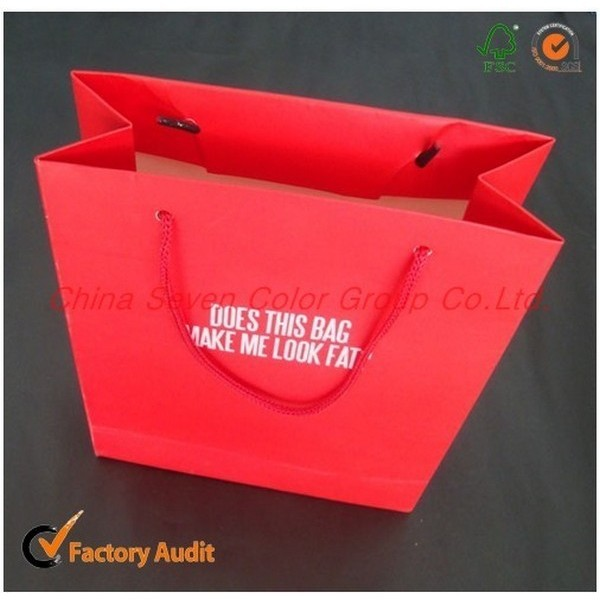 2018 Luxury Paper Bag With Custom Logo & Design