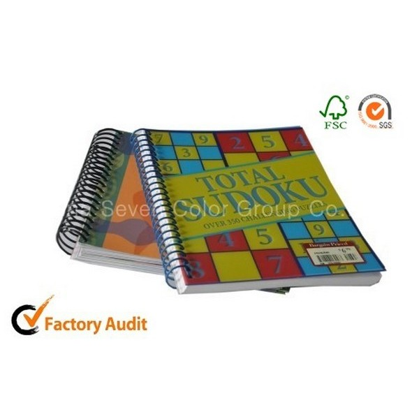 Spiral Binding Hand Art Children Activity Books