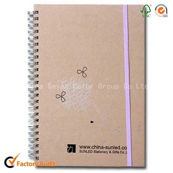 New Fashion Types Spiral Binding