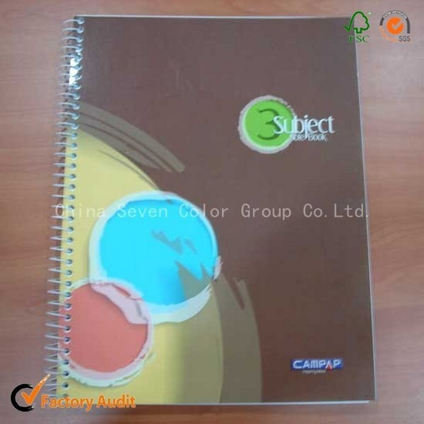 Custom Note Books Printing Spiral Binding