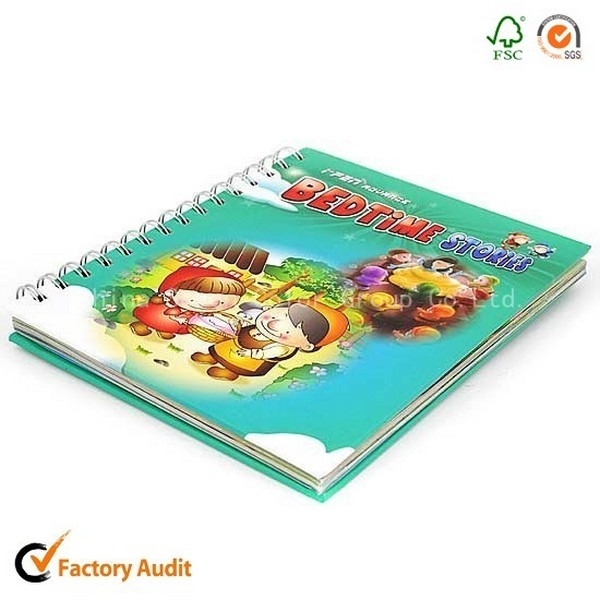Board Book Spiral Binding For Children